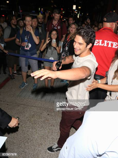 Tyler Posey is seen on July 21 2017 in San Diego California