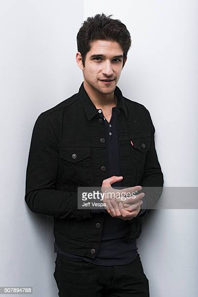 Tyler Posey of 'Yoga Hosers' poses for a portrait at the 2016 Sundance Film Festival on January 24 2016 in Park City Utah