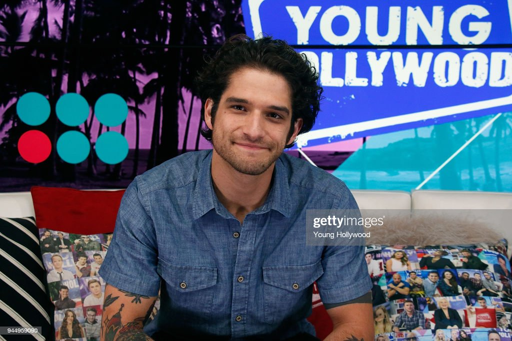 Tyler Posey visits the Young Hollywood Studio on April 11, 2017 in Los Angeles, California.