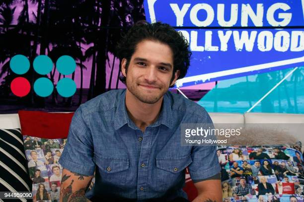 Tyler Posey visits the Young Hollywood Studio on April 11 2017 in Los Angeles California