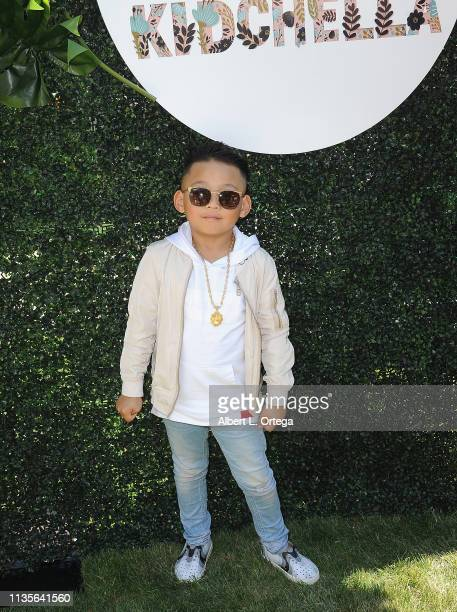 Tyler Qwest arrives for Clubhouse Kidchella held at Pershing Square on April 6 2019 in Los Angeles California