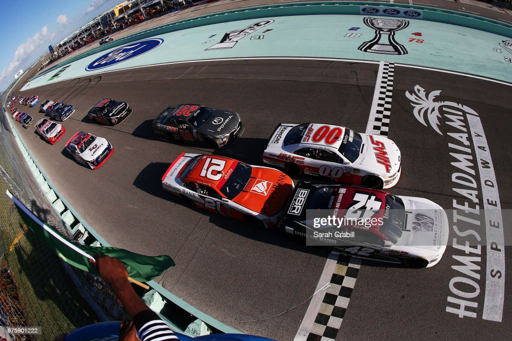 tyler reddick driver of the bbr granger smith chevrolet leads the news photo getty images https www gettyimages fi detail news photo tyler reddick driver of the bbr granger smith chevrolet news photo 875901222