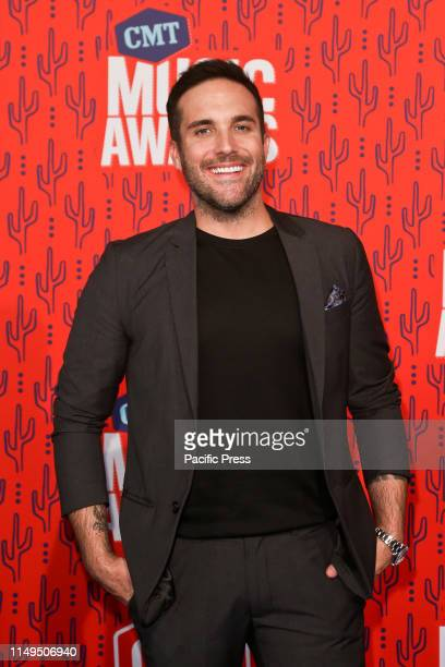Tyler Rich attends the 2019 CMT Music Awards at the Bridgestone Arena in Nashville Tennessee