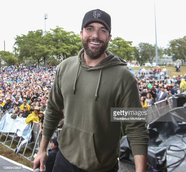 Tyler Rich performs during the Kiss 99 Chili Cook Off at CB Smith Park on January 26 2019 in Pembroke Pines Florida