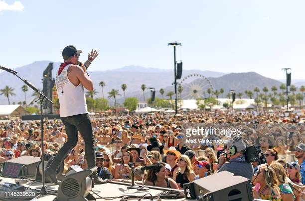 Tyler Rich performs onstage during the 2019 Stagecoach Festival at Empire Polo Field on April 26 2019 in Indio California