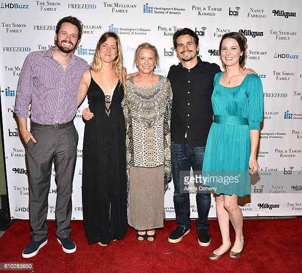 Tyler Ritter Lelia Parma Nancy Morgan Jason Ritter and Carly Ritter attend the 2nd Annual Freeze HD fundraiser to raise awareness for Huntington's...