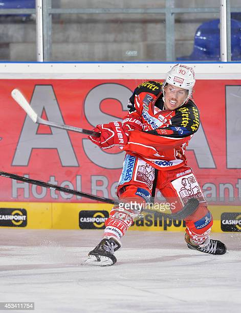 Tyler Scofield during a test game in Straubing Germany