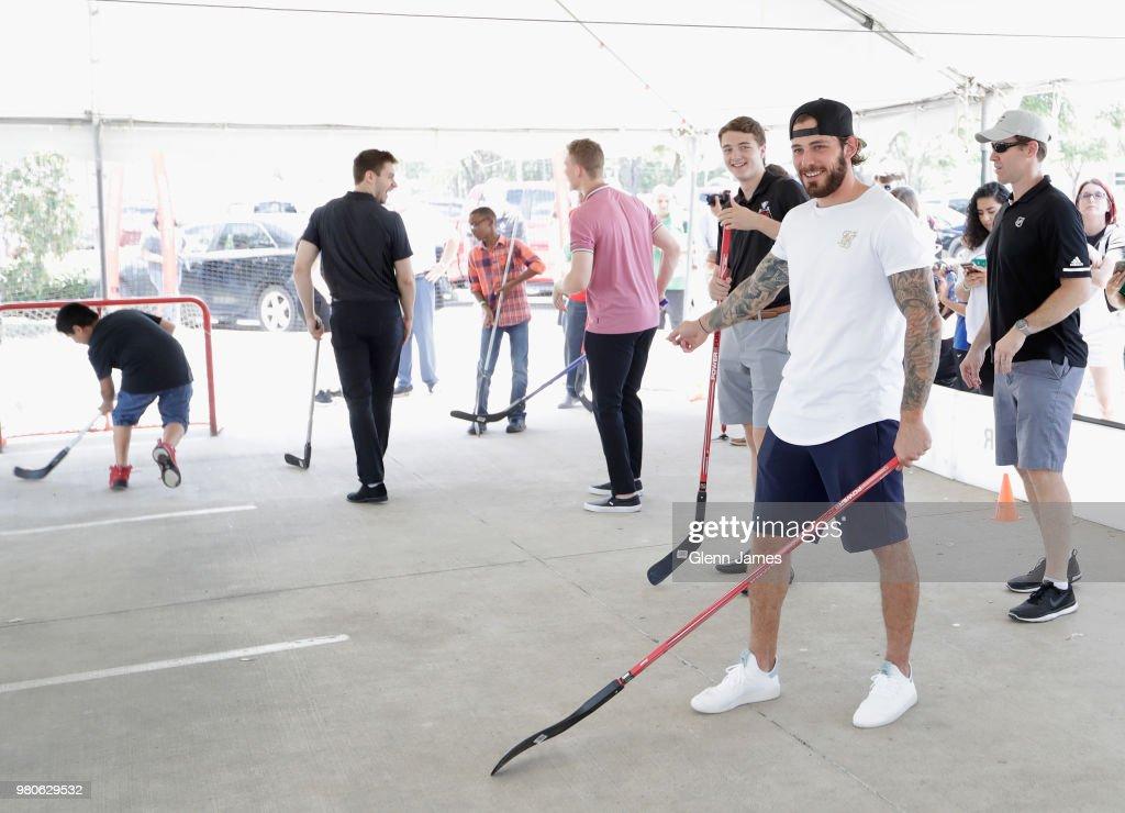 2018 NHL Draft - Ball Hockey With The Dallas Stars & Boys And Girls Club