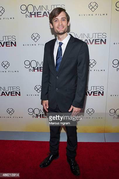 Tyler Smith attends '90 Minutes In Heaven' Atlanta premiere at Fox Theater on September 1 2015 in Atlanta Georgia