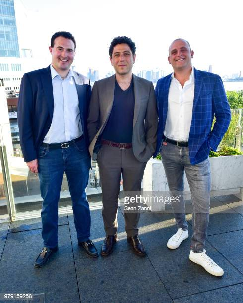 Tyler Tananbaum Kon Trubkovich and David Rothschild attend American Friends Of The Israel Museum Celebrate Summer 2018 at The High Line Room The...