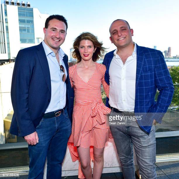 Tyler Tananbaum Victoria Stockman and David Rothschild attend American Friends Of The Israel Museum Celebrate Summer 2018 at The High Line Room The...