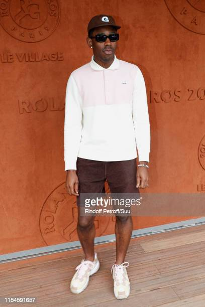 Tyler The Creator aka Tyler Okonma attend the 2019 French Tennis Open Day Fourteen at Roland Garros on June 08 2019 in Paris France