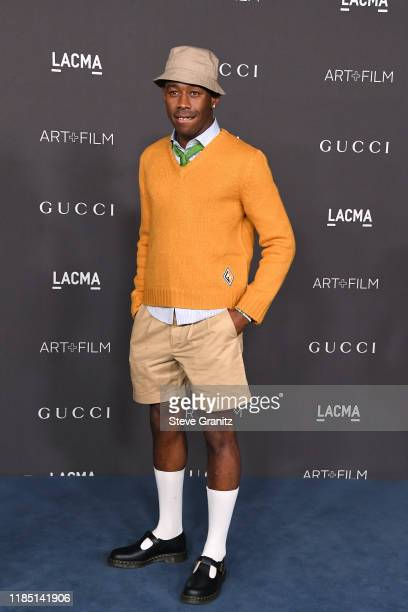 Tyler the Creator attends the 2019 LACMA Art Film Gala Presented By Gucci at LACMA on November 02 2019 in Los Angeles California