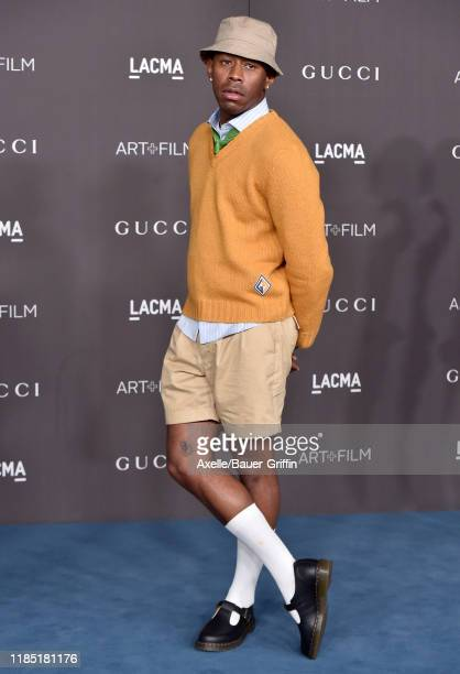 Tyler, the Creator attends the 2019 LACMA Art + Film Gala Presented By Gucci on November 02, 2019 in Los Angeles, California.