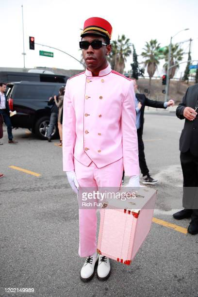 Tyler, the Creator attends the 62nd Annual GRAMMY Awards at STAPLES Center on January 26, 2020 in Los Angeles, California.