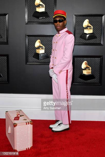 Tyler the Creator attends the 62nd Annual GRAMMY Awards at Staples Center on January 26 2020 in Los Angeles California