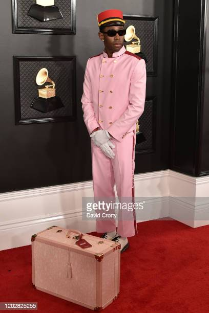 Tyler The Creator attends the 62nd Annual Grammy Awards at Staples Center on January 26, 2020 in Los Angeles, CA.