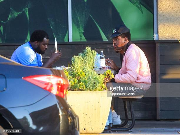 Tyler The Creator is seen on July 23, 2020 in Los Angeles, California.