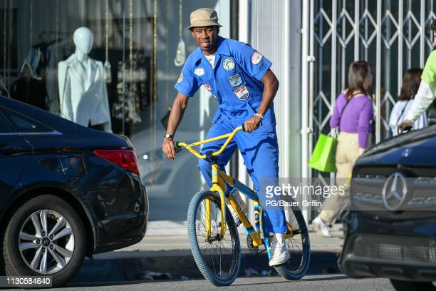 Tyler the Creator is seen on March 14 2019 in Los Angeles California