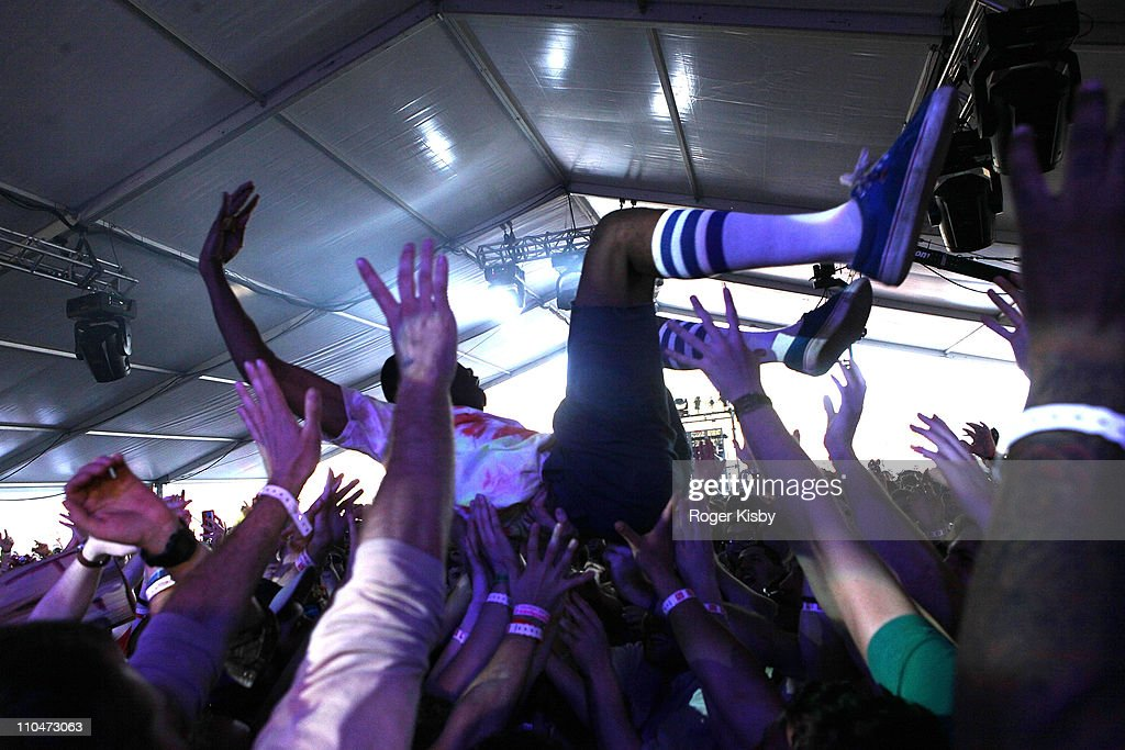b75464770eb3 Tyler the Creator of Odd Future performs onstage at Fader Fort by ...