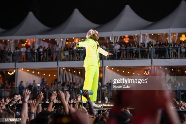 Tyler the Creator performs at the 2019 Governors Ball Festival at Randall's Island on May 31 2019 in New York City