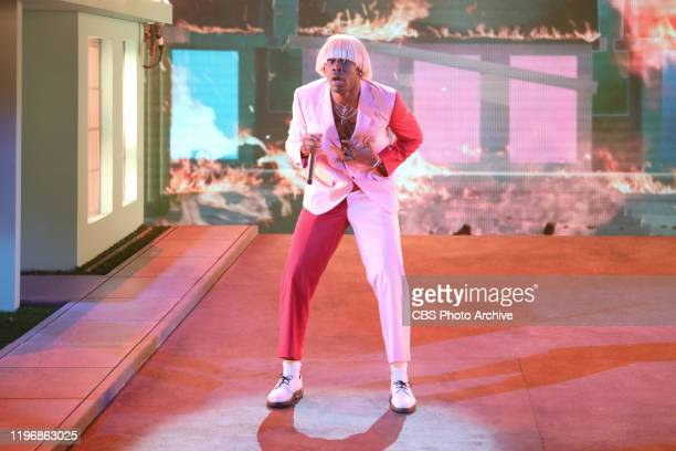 Tyler, The Creator performs at THE 62ND ANNUAL GRAMMY® AWARDS, broadcast live from the STAPLES Center in Los Angeles, Sunday, January 26, 2020 on the...