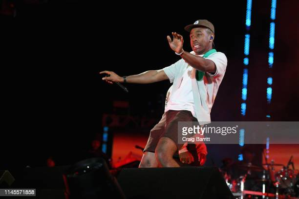 Tyler the Creator performs onstage at SOMETHING IN THE WATER Day 2 on April 27 2019 in Virginia Beach City