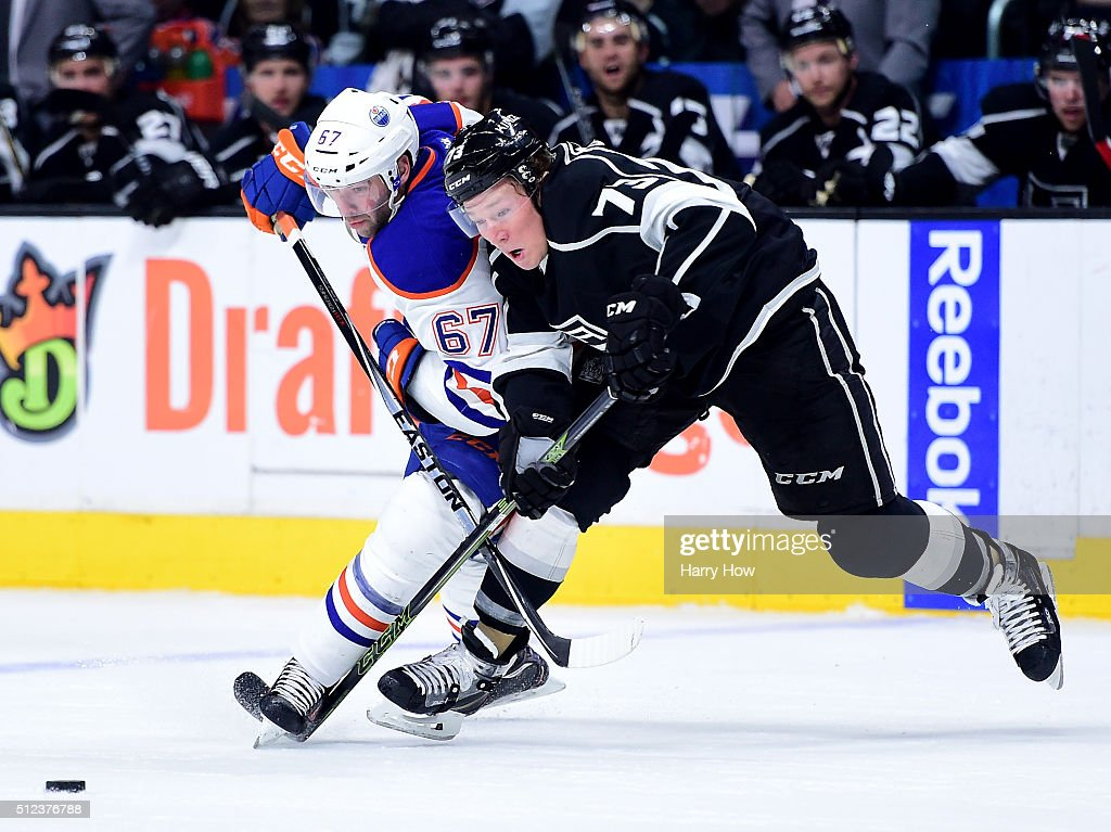 Edmonton Oilers v Los Angeles Kings : News Photo