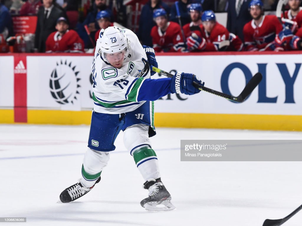 Vancouver Canucks v Montreal Canadiens : News Photo
