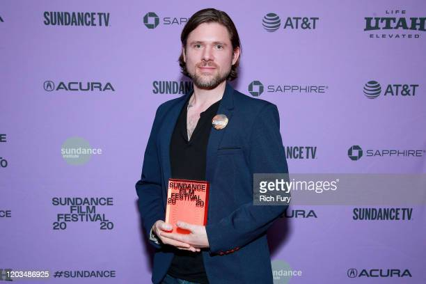 Tyler Walk speaks onstage during the 2020 Sundance Film Festival Awards Night Ceremony at Basin Recreation Field House on February 01 2020 in Park...