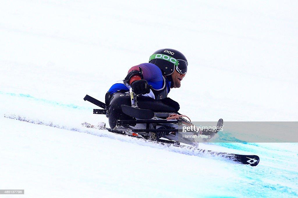 Winter Games NZ - IPC Alpine Adaptive Giant Slalom Southern Hemisphere Cup : News Photo
