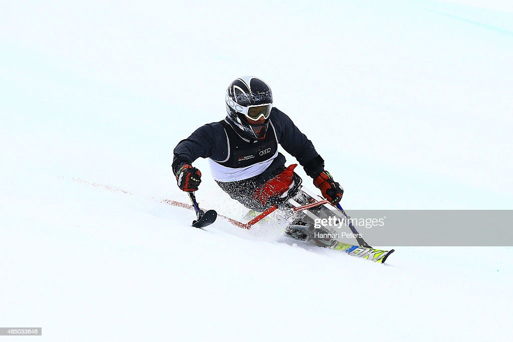 Winter Games NZ - IPC Alpine Adaptive Slalom Southern Hemisphere Cup : News Photo