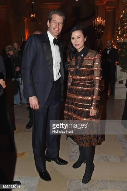 Tyler Winklevoss and Wendi Deng attend the Berggruen Prize Gala at the New York Public Library on December 14 2017 in New York City