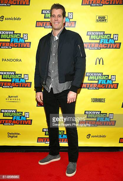 Tyler Winklevoss attends 'Bitcoin Let's Cut Through the Noise Already' during the 2016 SXSW Music Film Interactive Festival at Austin Convention...