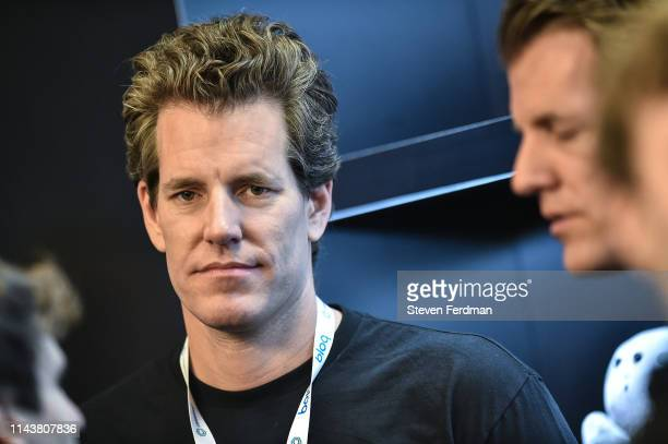 Tyler Winklevoss attends Consensus 2019 at the Hilton Midtown on May 13, 2019 in New York City.