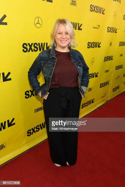 Tylie Cox attends the 'The Director and The Jedi' Premiere 2018 SXSW Conference and Festivals at Paramount Theatre on March 12 2018 in Austin Texas