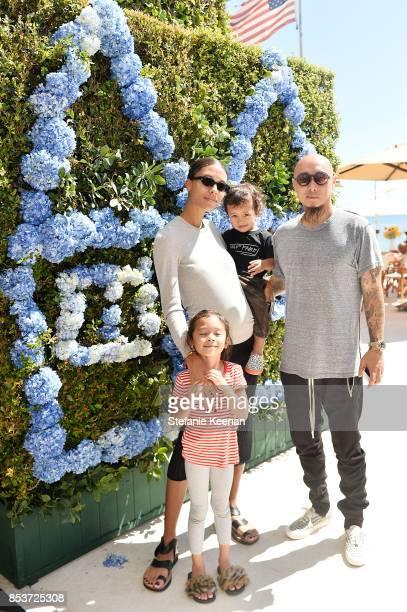Tylynn Nguyen, Bee Nguyen and family attend Maisonette Beach BBQ on September 24, 2017 in Malibu, California.