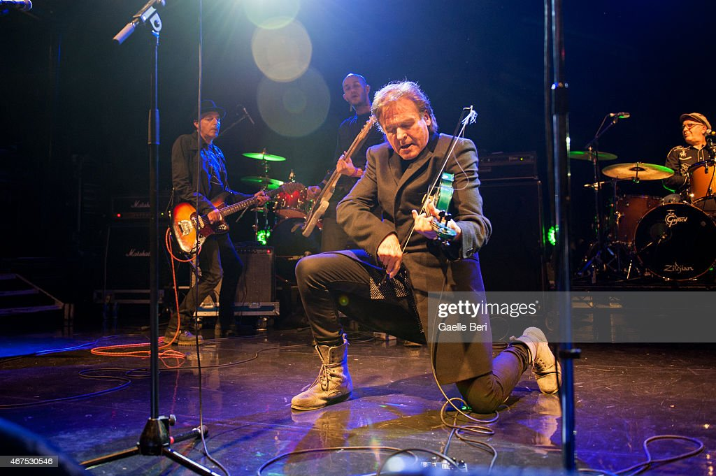 Tymon Dogg performs at KOKO on March 25, 2015 in London, England.
