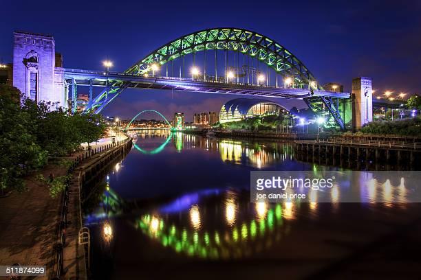 Tyne Bridge and Millennium Bridge, Newcastle