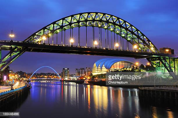 tyne bridge, newcastle, england - newcastle upon tyne stock pictures, royalty-free photos & images
