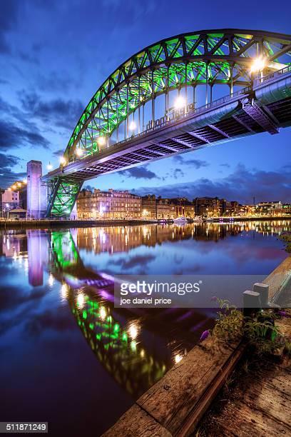 tyne bridge, newcastle, england - newcastle upon tyne stock photos and pictures