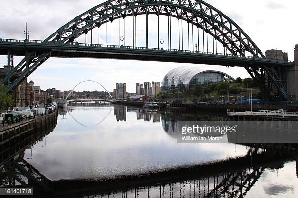 CONTENT] Tyne bridge reflections Gateshead Newcastle Tyne and Wear