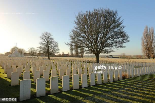 Tyne Cot WWI Memorial Cemetery - Flanders Fields Belgium