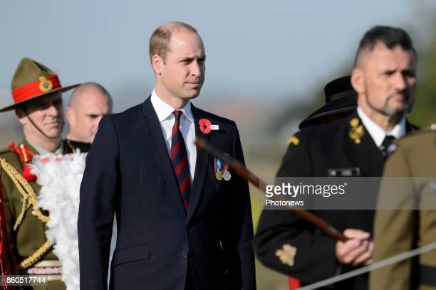 Prince William and Princess Astrid attend New Zealand commemorations of the 100th anniversary of the Battle of Passchendaele Prince William pictured...