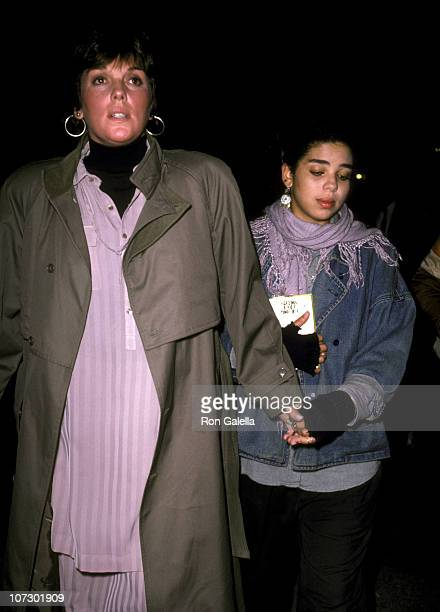 Tyne Daly and Daughter during Tyne Daly and her Daughter sighting at Regency Hotel in New York City October 10 1985 at Regency Hotel in New York City...