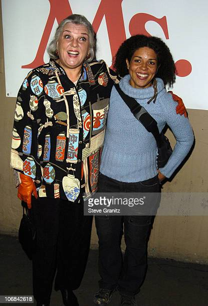 Tyne Daly and daughter Elizabeth Brown during Ms Magazine Celebrates Kathy Najimy as One of its 2004 Women of The Year Arrivals at The Spider Club in...
