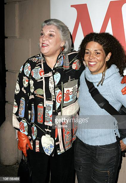 Tyne Daly and daughter Elizabeth Brown during Ms Magazine Celebrates Kathy Najimy as One of its 2004 Women of The Year Red Carpet at Spider Club in...