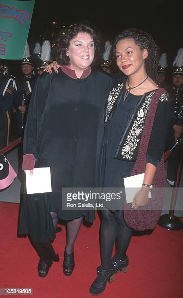 Tyne Daly and daughter Kathryne during Premiere of ABC's Bye Bye Birdie at The Academy in Beverly Hills California United States