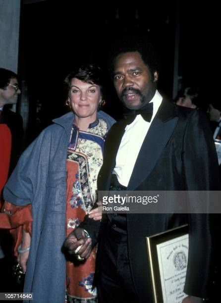 Tyne Daly and Georg Stanford Brown during 34th Annual Directors Guild of America Awards at Beverly Hilton Hotel in Beverly Hills California United...