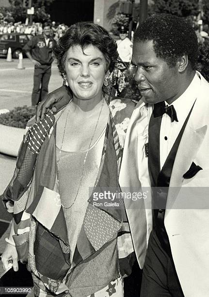 Tyne Daly and Georg Stanford Brown during 38th Annual Primetime Emmy Awards at Pasadena Civic Auditorium in Pasadena California United States